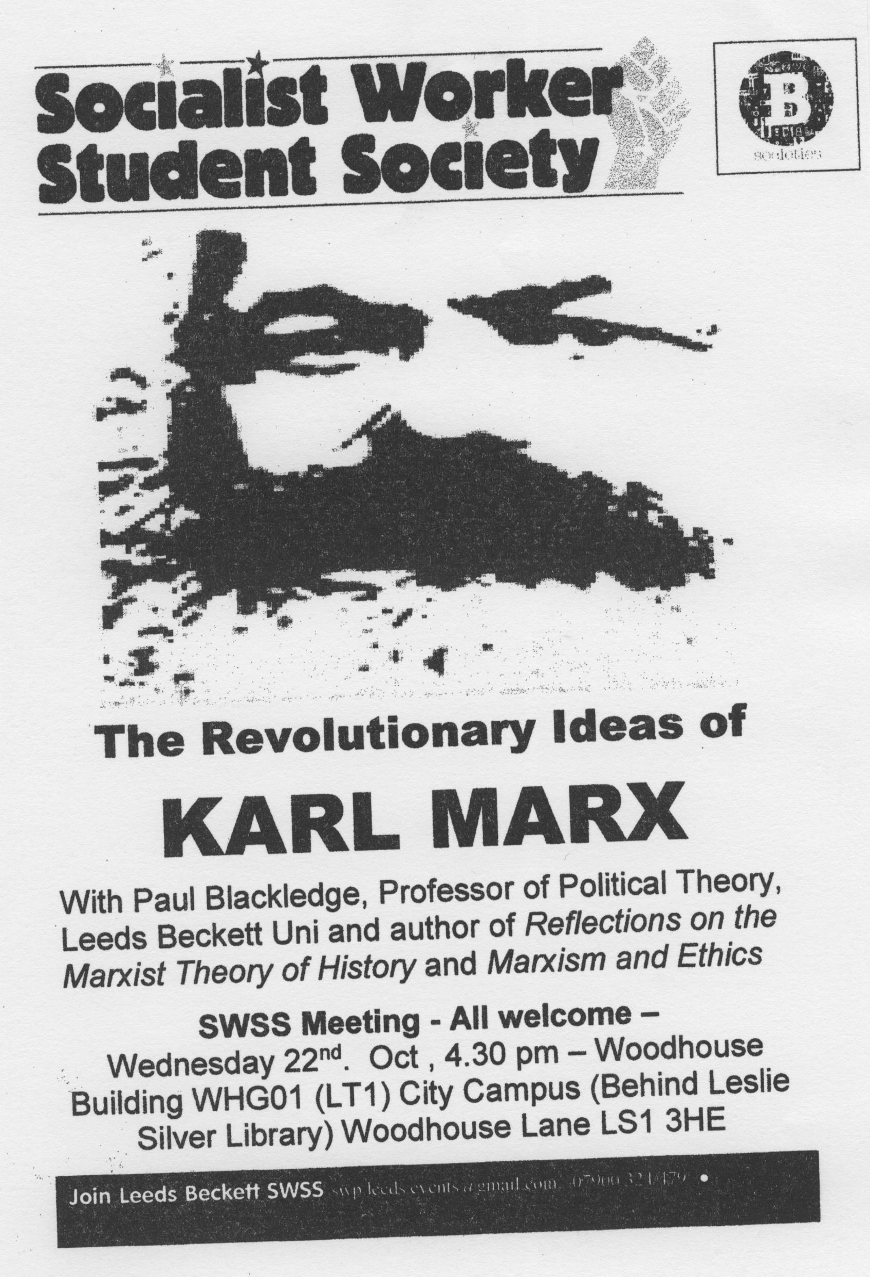 karl marx and the idea of Karl marx (german: [ˈkaɐ̯l ˈmaɐ̯ks] 5 may 1818 – 14 march 1883) was a german philosopher, economist, historian, sociologist, political theorist, journalist and socialist revolutionary born in trier , germany, to a jewish middle-class family, marx studied law and philosophy at the university.