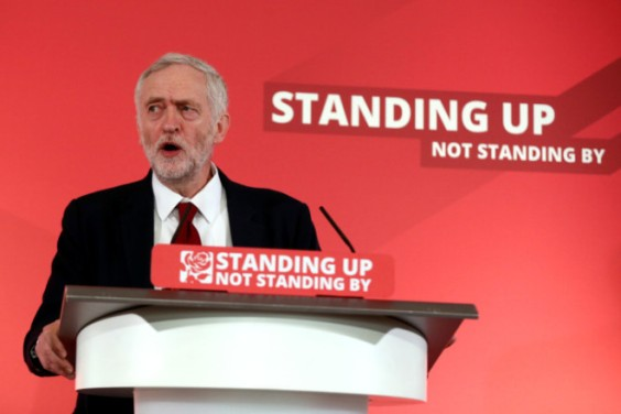Labour Leader Jeremy Corbyn Launches Their Local Election Campaign