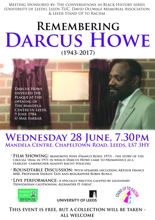 Remembering Darcus Howe
